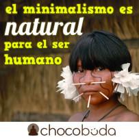 El minimalismo es natural para el ser humano